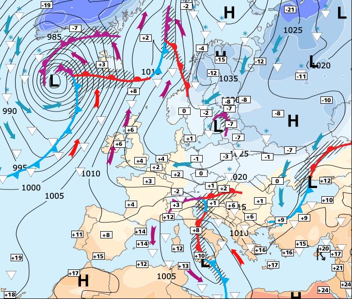 Image d'illustration pour Impressionnante vague d'air Sibérien à partir de lundi !