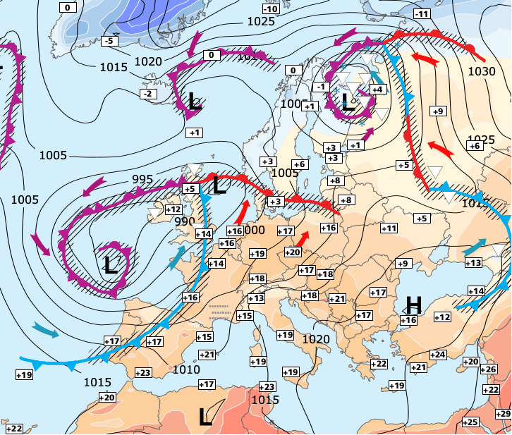 Image d'illustration pour Envolée des températures entre vendredi et samedi