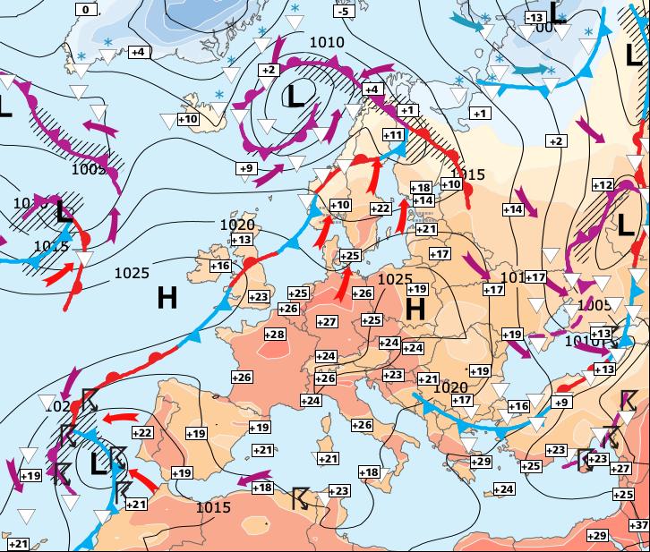 Image d'illustration pour Week-end encore chaud, malgré quelques orages au Nord