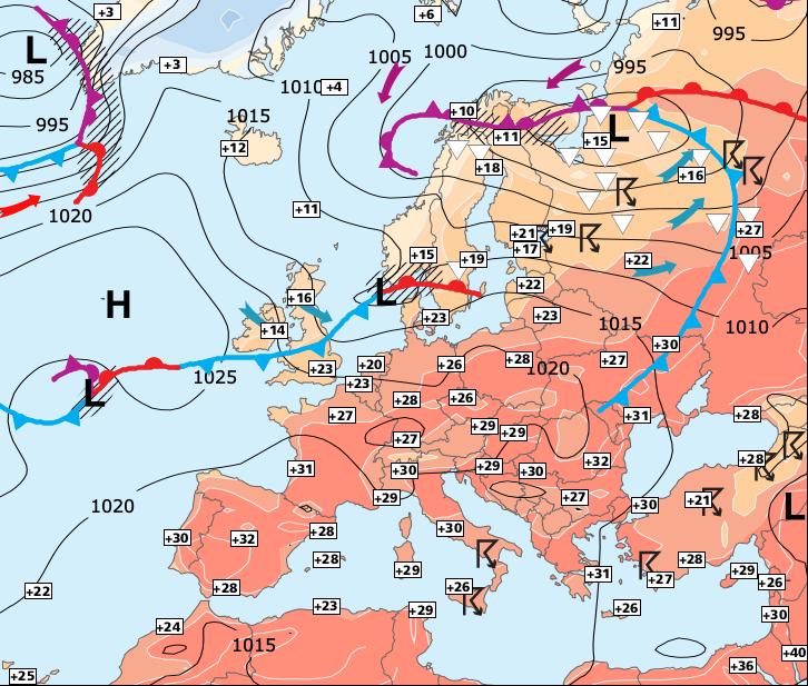 Image d'illustration pour Repli très temporaire de la chaleur au Nord