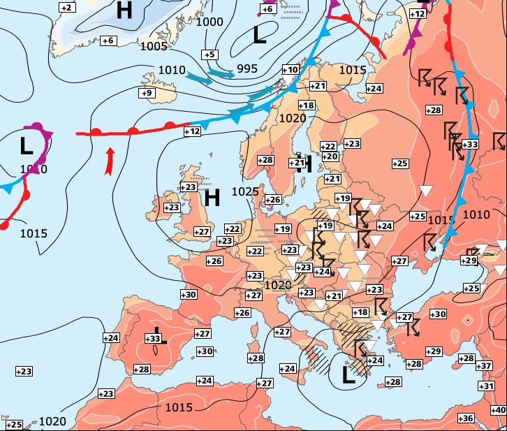 Image d'illustration pour De plus en plus chaud avant les orages de ce week-end