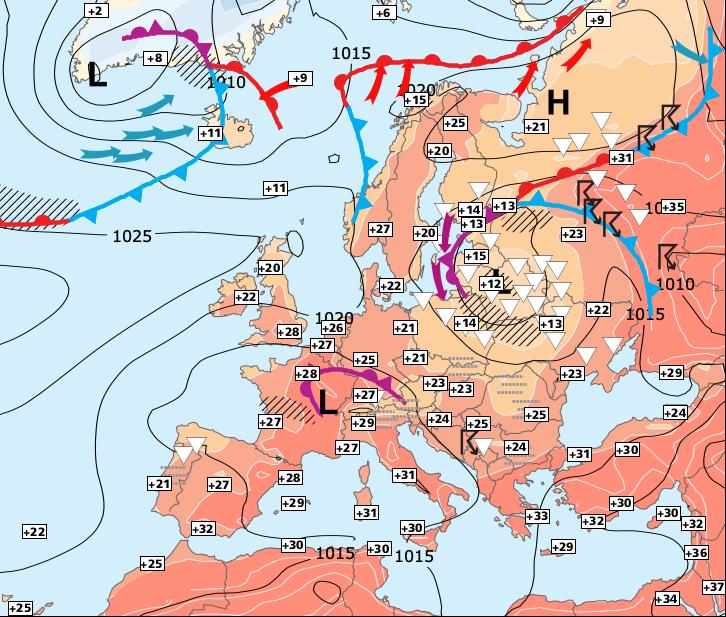Image d'illustration pour Régression temporaire des fortes chaleurs mais restant estival