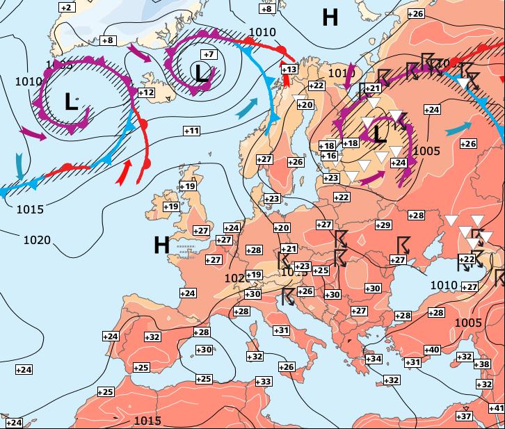 Image d'illustration pour Quasi-disparition des orages et toujours estival