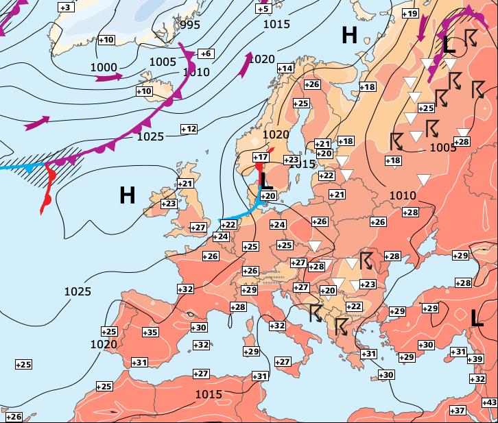 Image d'illustration pour Temporairement moins chaud sur la moitié Nord