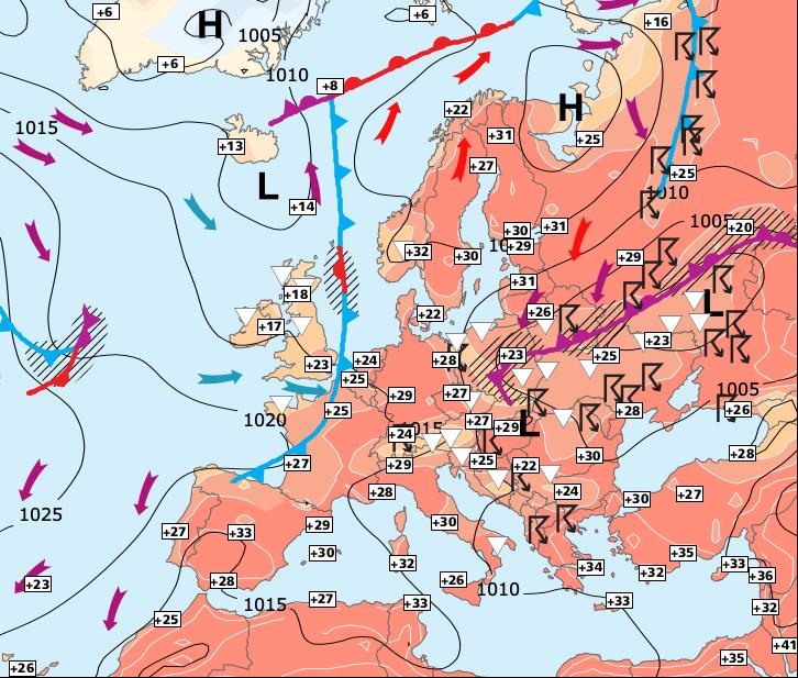 Image d'illustration pour Le temps reste globalement estival jusqu'à la fin du mois