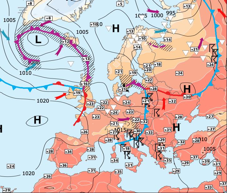 Image d'illustration pour Le pectre d'une nouvelle vague de chaleur la semaine prochaine !