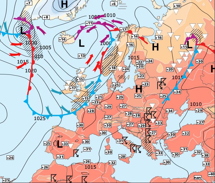 Image d'illustration pour La chaleur se réinstallera rapidement sur la moitié Sud