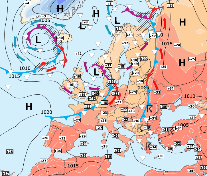 Image d'illustration pour Retour de la chaleur et des orages