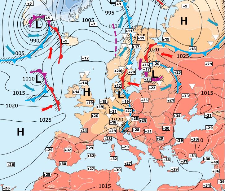 Image d'illustration pour Début septembre sera chaud
