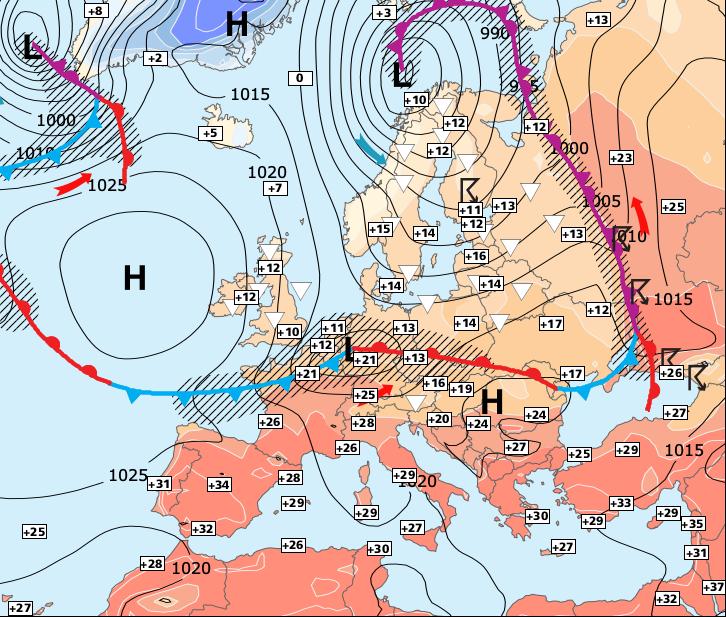 Image d'illustration pour Retour en force de l'anticyclone et du soleil !
