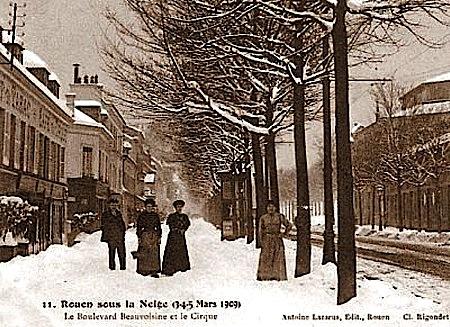 Image d'illustration pour 12/03/2013 - Neige exceptionnelle au nord de la Loire