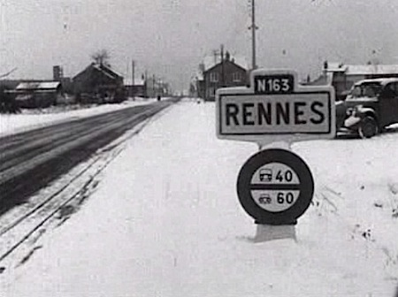 Rennes enneigée (depuis le site www.meteo-paris.com)