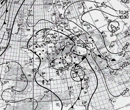 Image d'illustration pour Froid et neige en plaine mi-octobre 1975