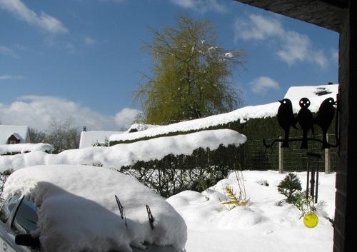 Image d'illustration pour 05/04/2013 - bilan de la neige en Normandie, Pays de la Loire
