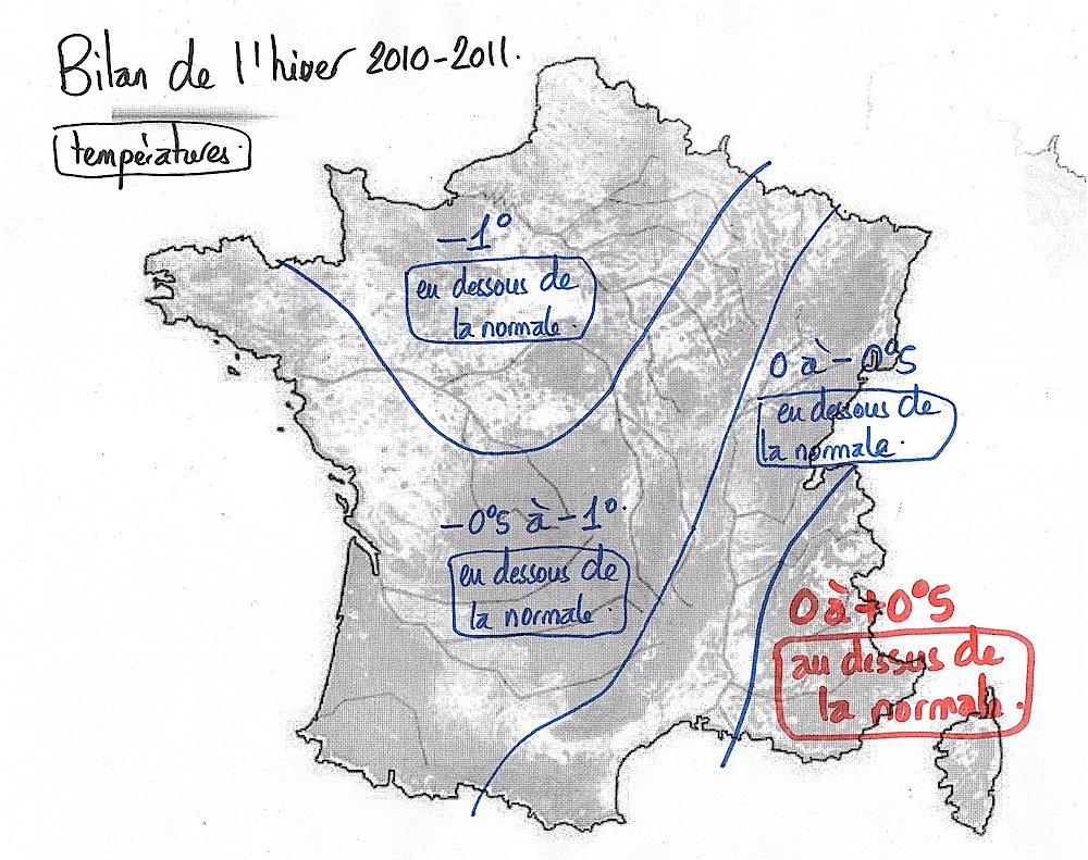 bilan hiver 2010-2011 France
