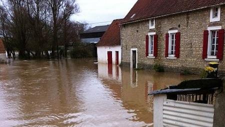 Image d'illustration pour Inondations dans le Nord-Pas-de-Calais
