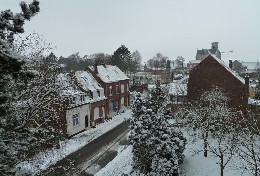 Image d'illustration pour La neige de lundi 11 février 2013 dans le Nord et l'Est