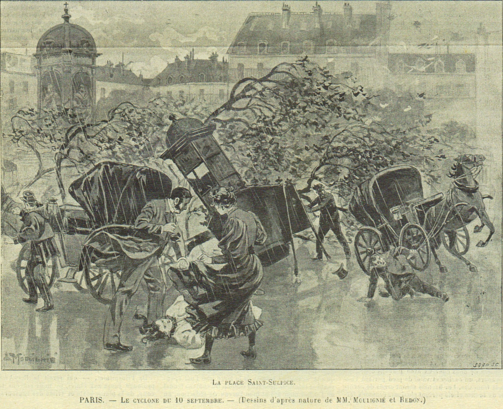 tornade septembre 1896 Paris