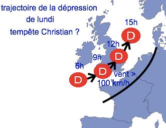 Image d'illustration pour ATTENTION à la tempête qui touchera la moitié Nord dans la journée de LUNDI