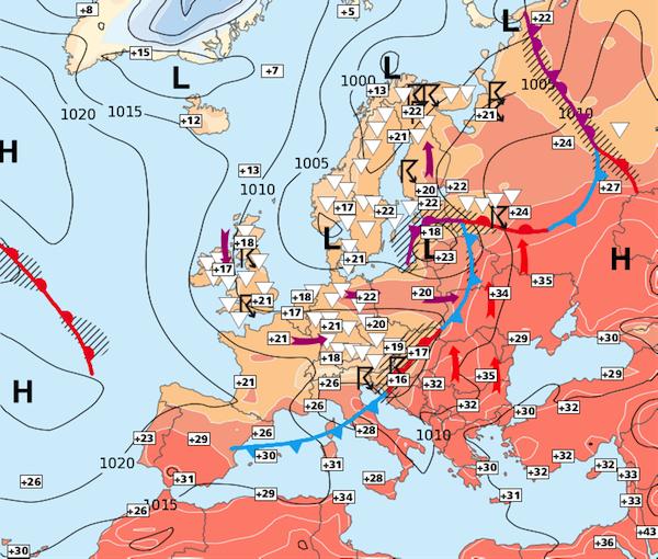 Image d'illustration pour Nette amélioration au sud à partir de samedi; plus limitée au nord