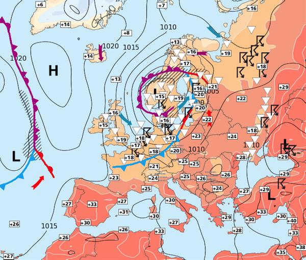 Image d'illustration pour Pas de réel réchauffement sur la moitié Nord avant dimanche