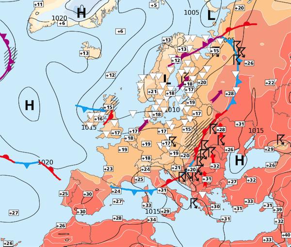 Image d'illustration pour Toujours pas de période estivale en vue sur la moitié Nord