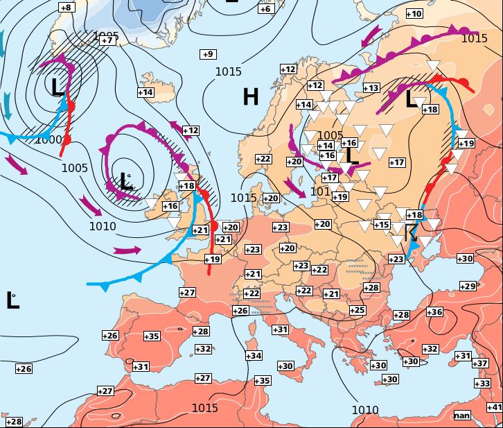 Image d'illustration pour La période de mauvais temps se terminera dimanche ou lundi...