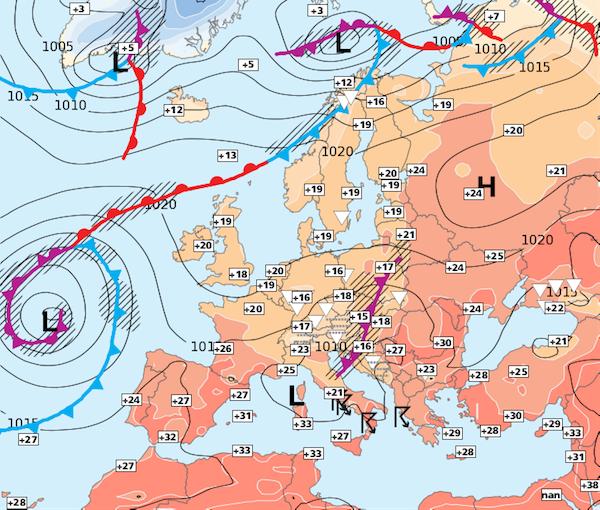 Image d'illustration pour La période de temps sec et stable se terminera en début de semaine prochaine