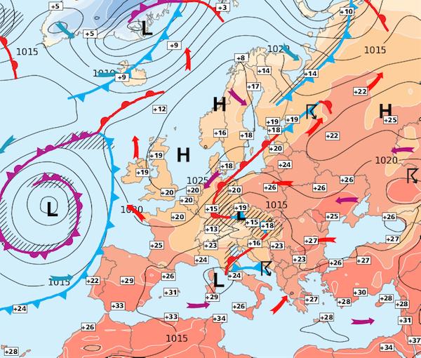 Image d'illustration pour Week-end plutôt beau - semaine prochaine chaude et nuageuse