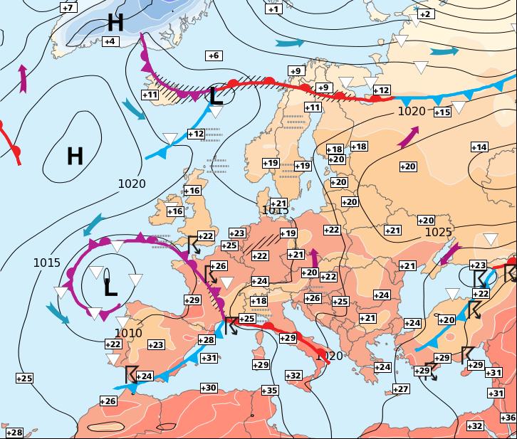 Image d'illustration pour Fin de la période estivale et orageuse, prévue entre dimanche et lundi