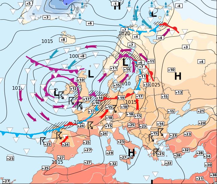 Image d'illustration pour Encore beaucoup de pluie et des températures élevées dans le Sud-est