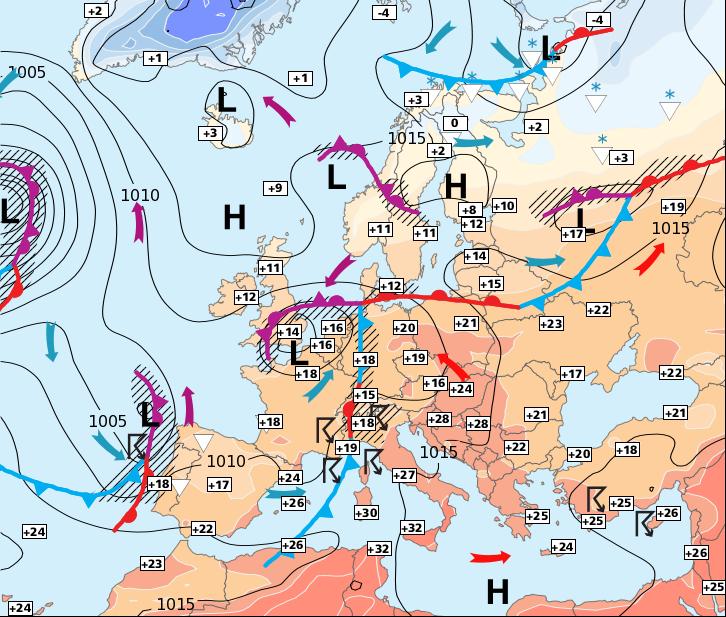Image d'illustration pour Vers des records de chaleur en fin de semaine et surtout le week-end prochain