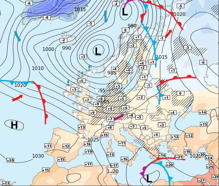Image d'illustration pour Attention au coup de vent sur la moitié Nord