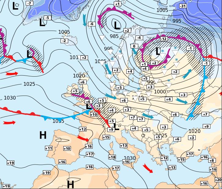 Image d'illustration pour Accalmie et retour temporaire de l'anticyclone