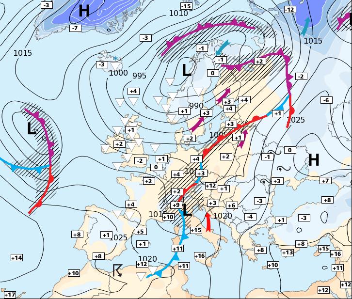 Image d'illustration pour Peut-être quelques flocons sur les régions du Nord