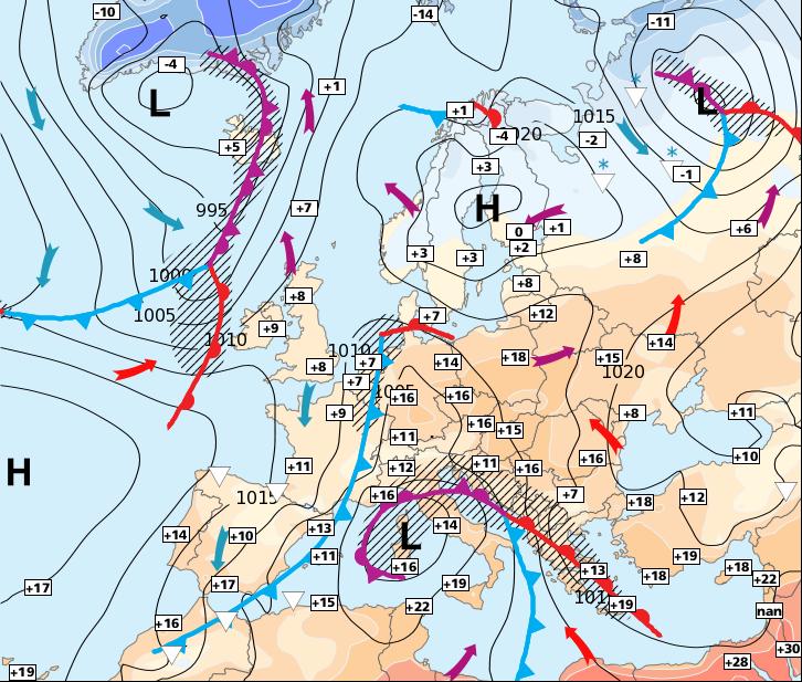 Image d'illustration pour Nouvelles pluies au nord, amélioration dans le Sud-est