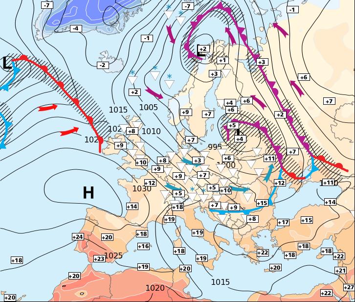 Image d'illustration pour Frais et humide jusqu'à samedi ou dimanche
