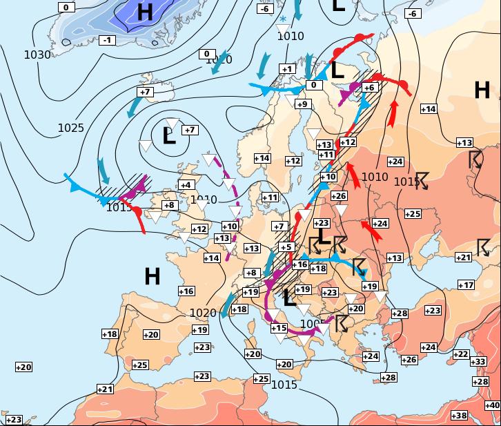 Image d'illustration pour Retour progressif de la pluie par les régions du Nord-ouest