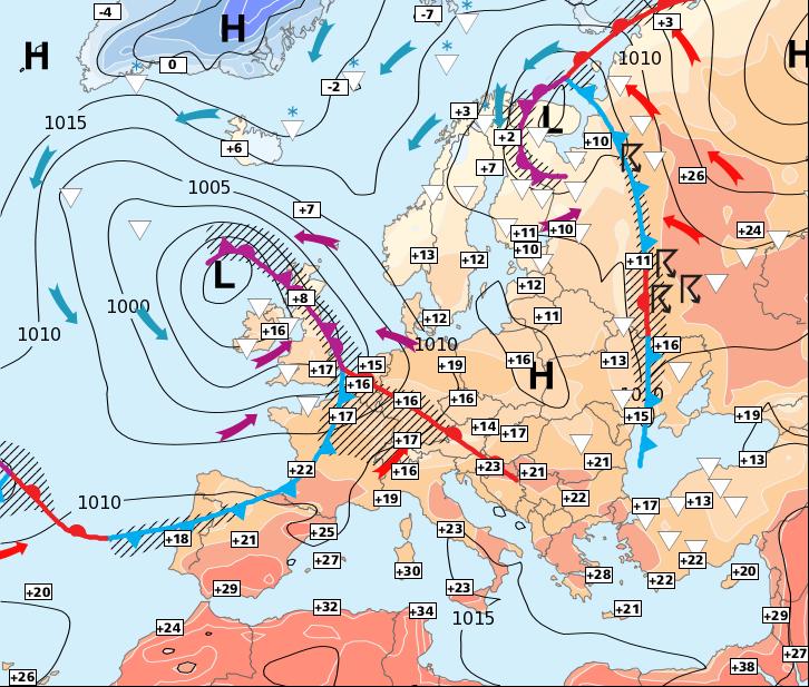 Image d'illustration pour Attention au coup de vent et aux orages de lundi soir