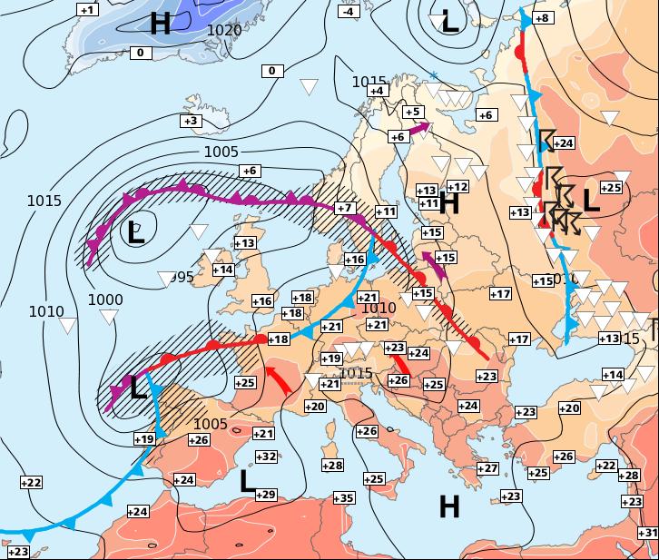 Image d'illustration pour Beaucoup de vent dans l'Ouest et le Nord