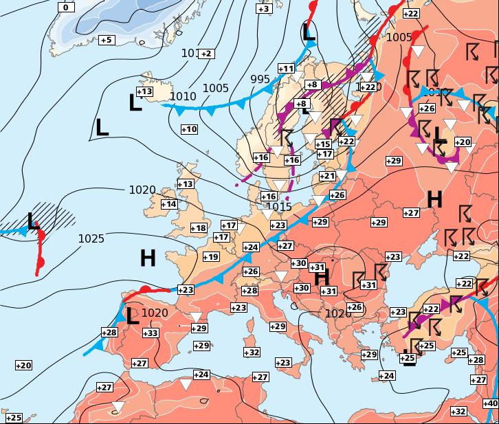 Image d'illustration pour La chaleur se généralise pour 2 jours