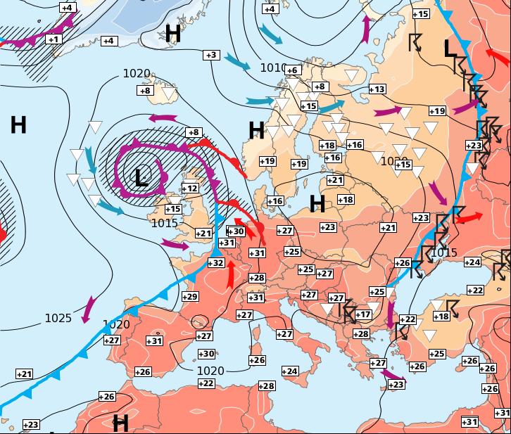 Image d'illustration pour Chute brutale des températures au nord
