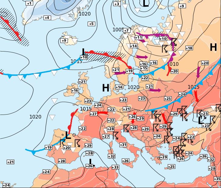 Image d'illustration pour Retour des orages, notamment au sud de la Loire