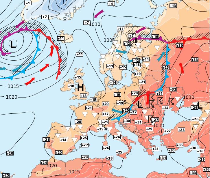 Image d'illustration pour Atténuation des orages dans le Sud à partir de mecredi