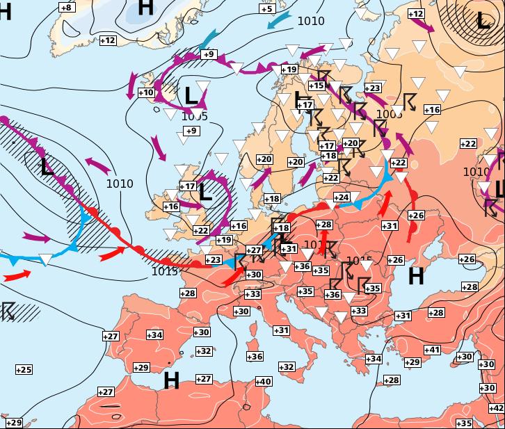 Image d'illustration pour Retour progressif de la chaleur, sauf dans le Nord-ouest