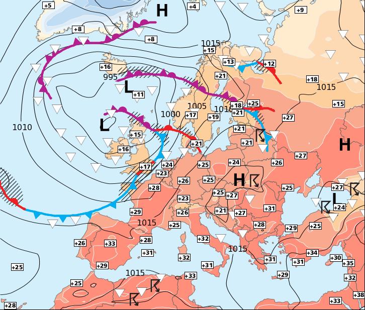 Image d'illustration pour Douche froide très éphémère dans le Nord-ouest !