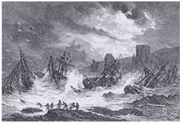 Photo de l'Almanach d'événement météo du 10/1/1866