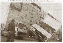 Photo de l'Almanach d'événement météo du 25/1/1990