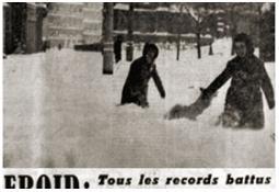 Photo de l'Almanach d'événement météo du 19/2/1956
