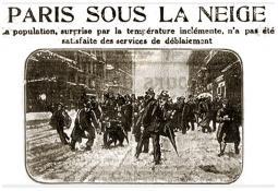 Photo de l'Almanach d'événement météo du 25/2/1916